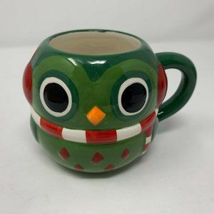 Mesa Home Products 3D Owl Mug Hand Painted Ceramic